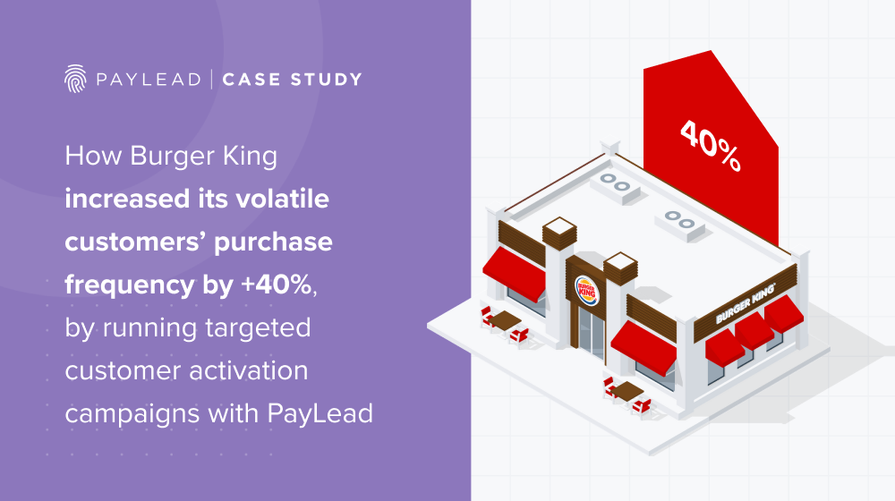 Burger King & PayLead: Increasing purchase frequency amongst a volatile customer base